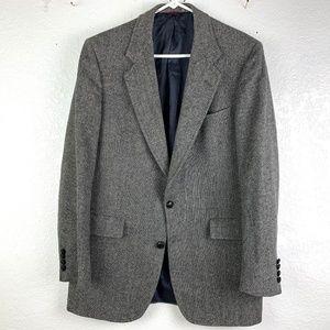 Hart Schaffner Marx Gray Tweed Sport Coat 40L